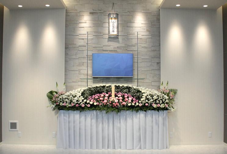 お花で送る家族葬