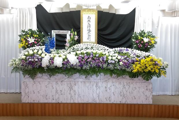 家族葬祭壇画像